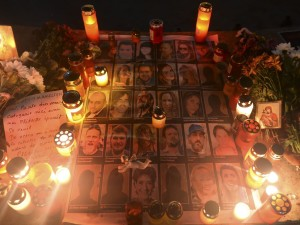 Bucharest fire victims 'died in a biological bomb', claims surgeon