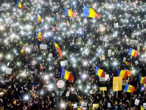 Romanians call for government to resign